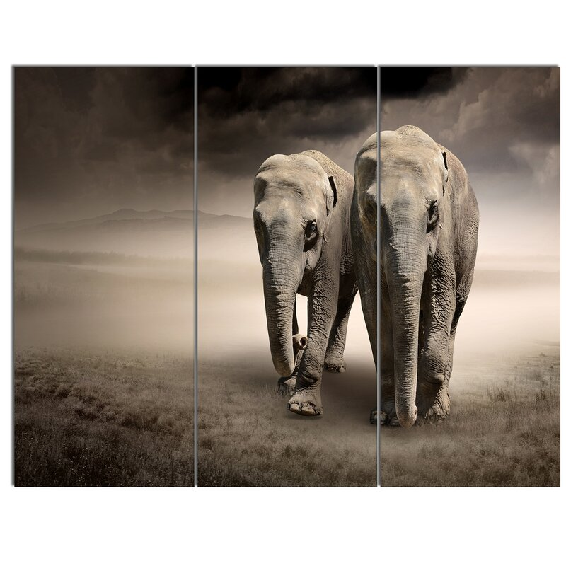 pair in motionu0027 3 piece wall art on wrapped canvas set u0027