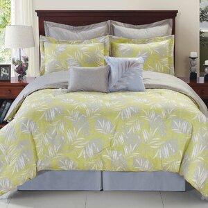 Wynnefield Tropical Reversible Comforter Set