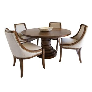 Dionte 5 Piece Dining Set by World Menagerie