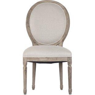 Medallion Upholstered Dining Chair