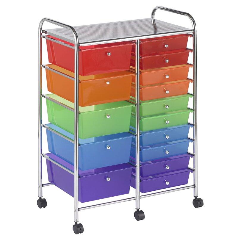 15 Drawer Storage Chest
