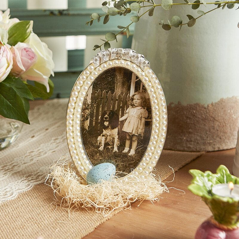 Zingz & Thingz Strands of Pearl Picture Frame & Reviews | Wayfair