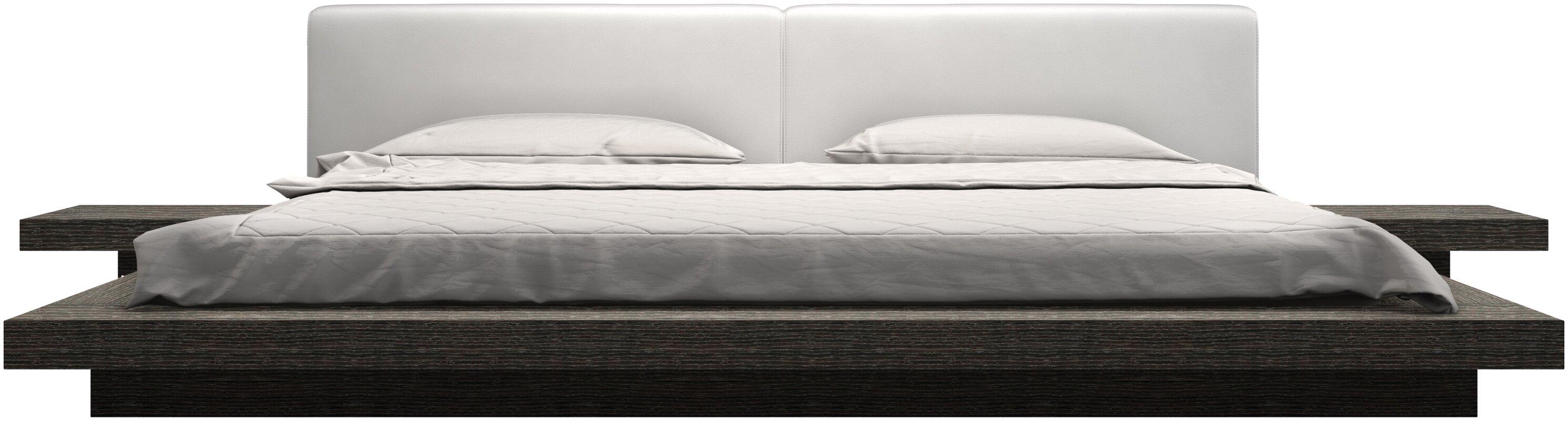 Worth Upholstered Platform Bed & Reviews | AllModern