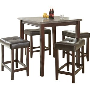Covedale 5 Piece Counter Height Dining Se..