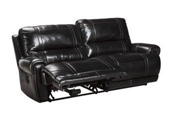 Signature Design By Ashley Paron Leather Reclining Sofa Reviews Wayfair