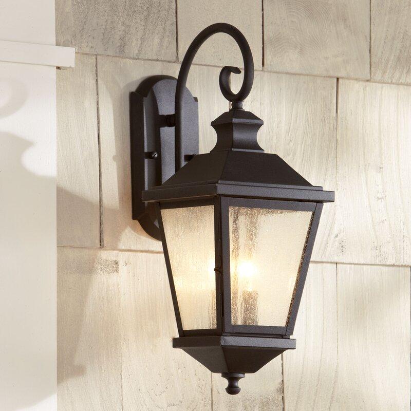 Birch Lane™ Hillside 2-Light Outdoor Wall Lantern & Reviews | Birch Lane