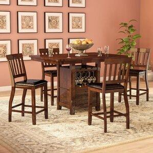 Dore 5 Piece Pub Table Set by World Menagerie