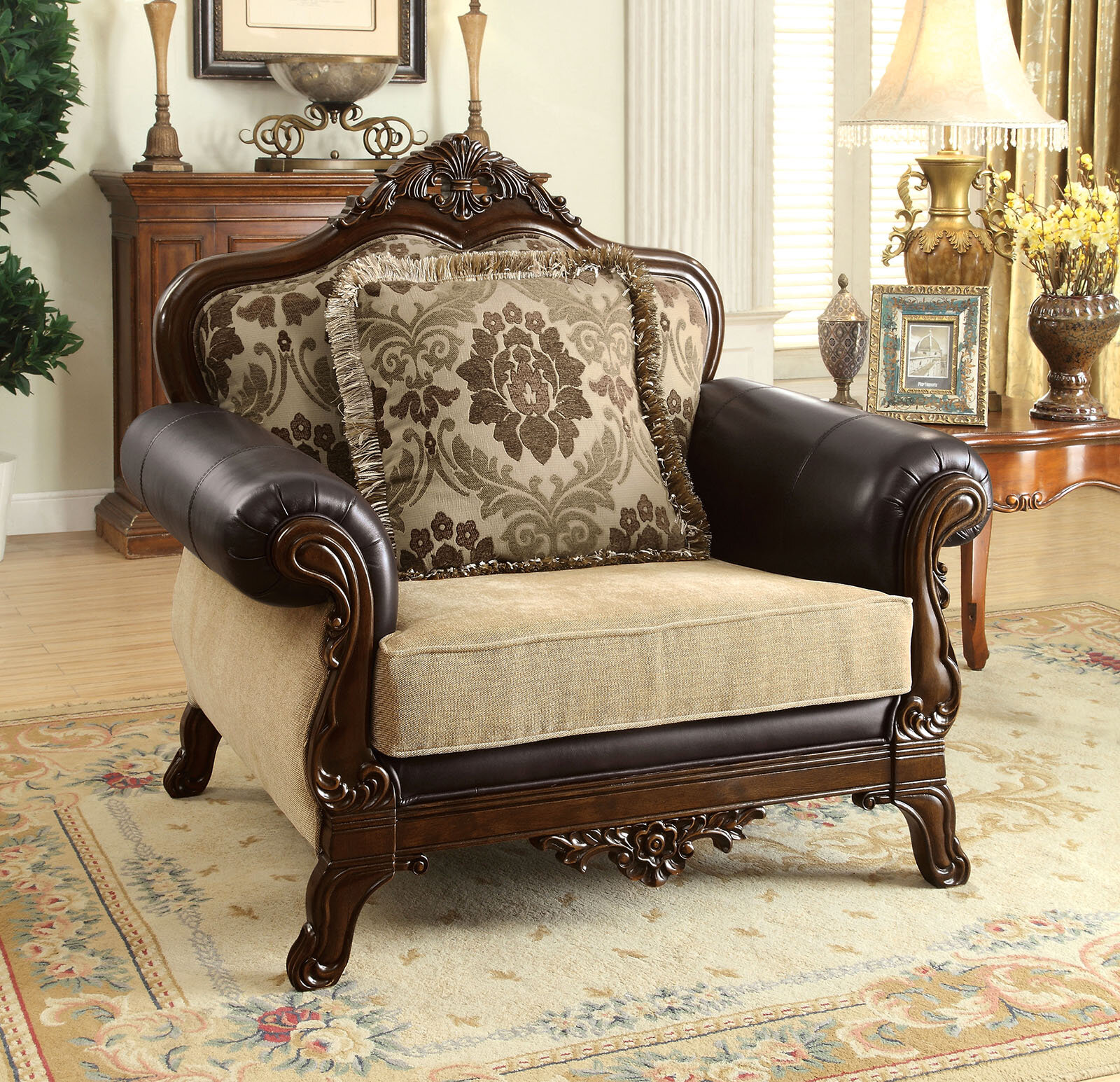Astoria Grand Romo Armchair | Wayfair