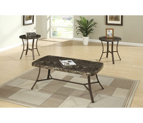 Faux Marble Coffee Table Set | Wayfair