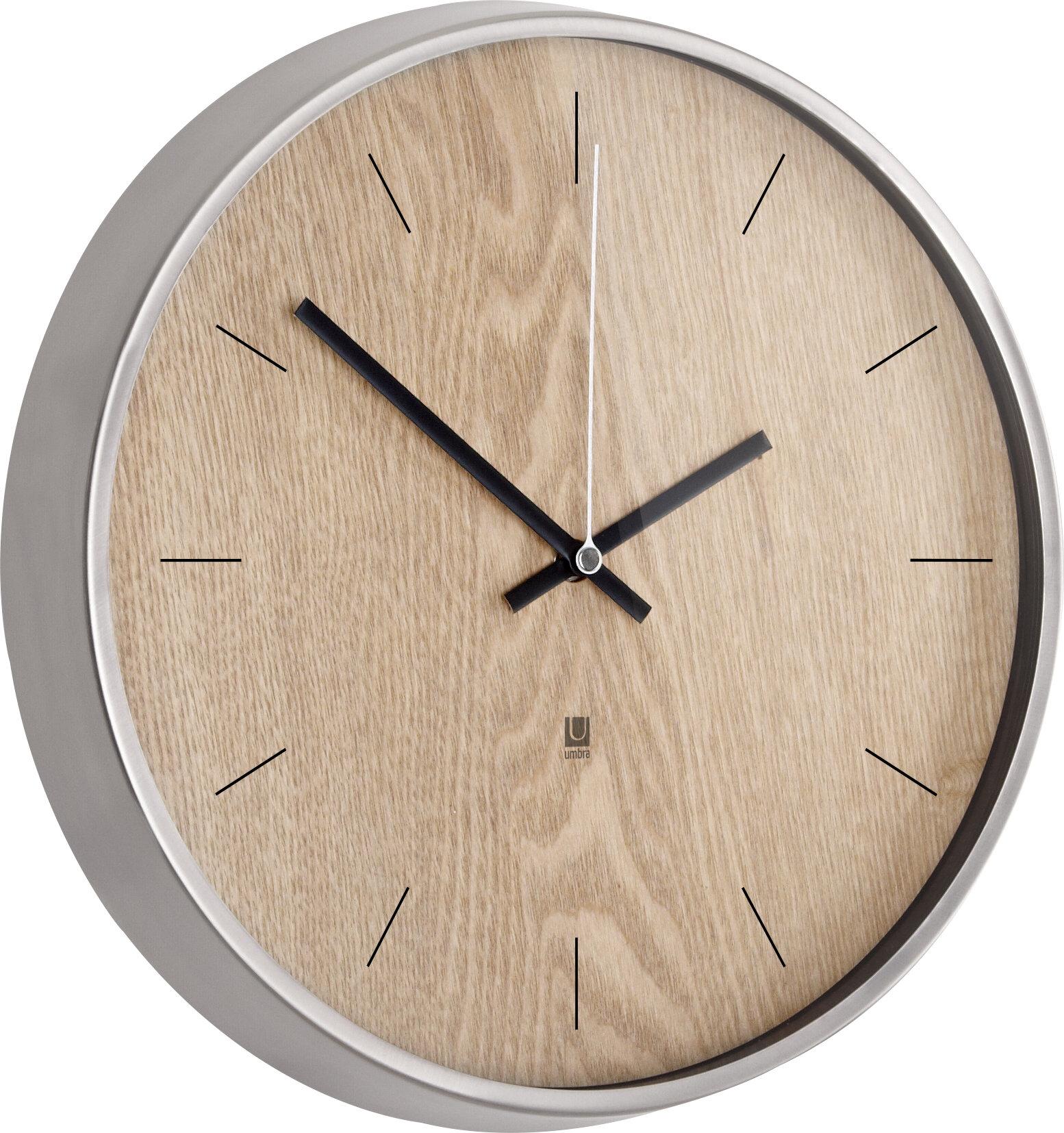 Madera 1275 Wall Clock Reviews Allmodern