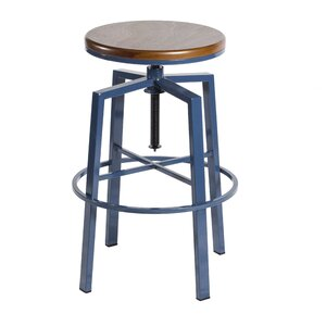 Creekmont Adjustable Height Swivel Bar Stool