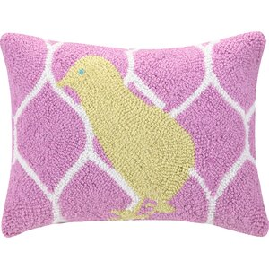 Chick Polyester Throw Pillow