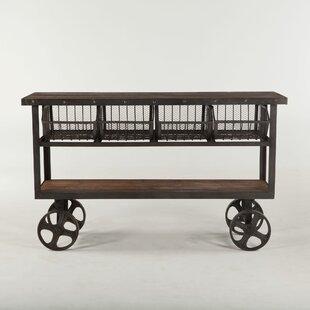 Tabron Reclaimed Bar Cart