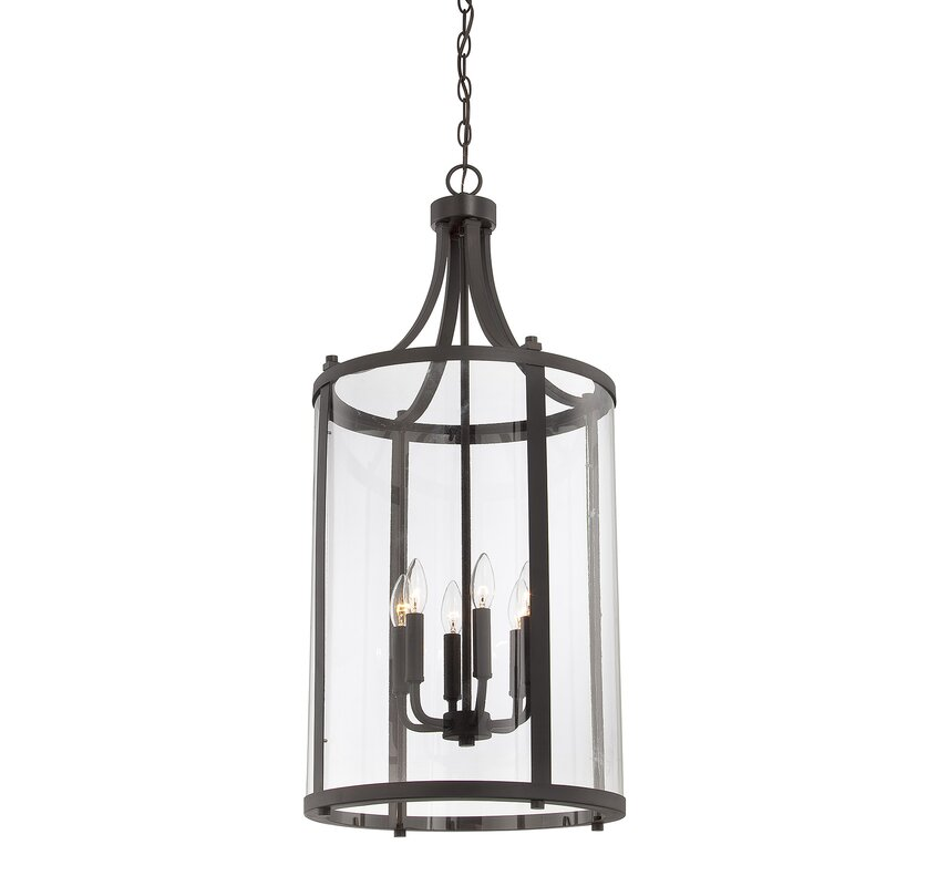Brookville 6 light medium foyer lantern