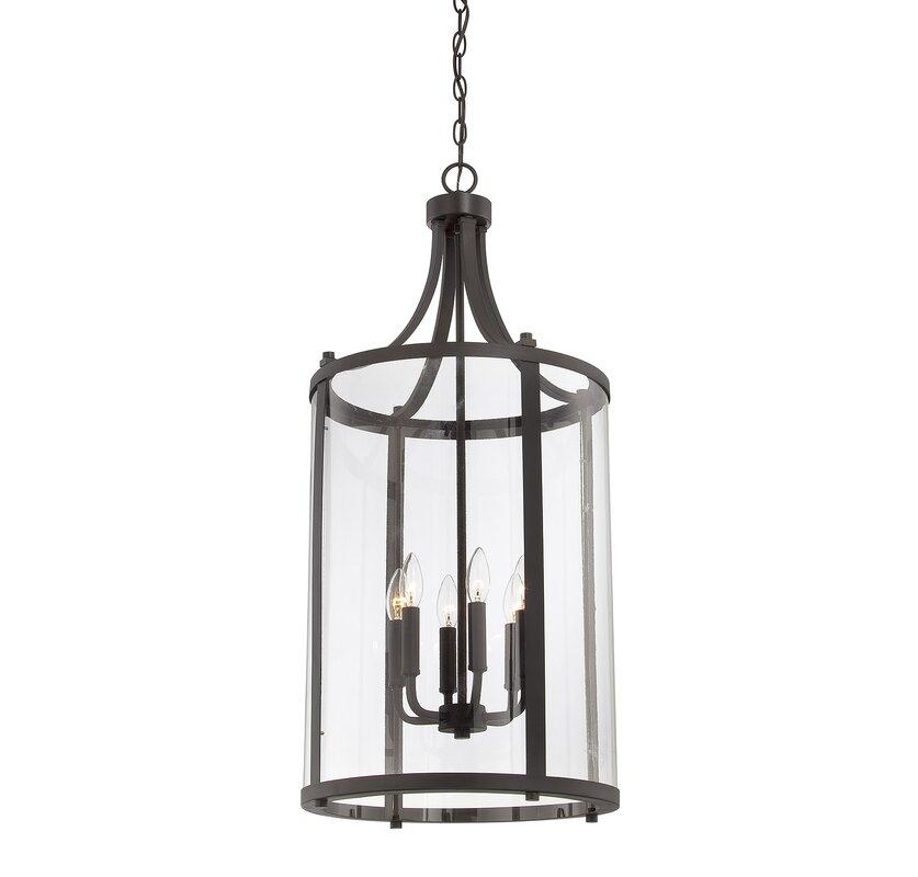 Brookville 6 light medium foyer lantern
