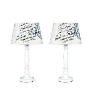 Shabby chic table lamp wayfair shabby elegance 36cm table lamp mozeypictures Gallery
