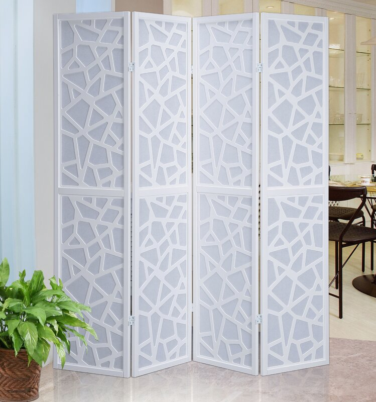 Roundhill Furniture X Giyano Screen Panel Room Divider - 4 panel room divider