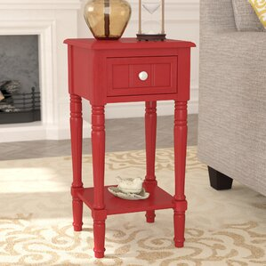 Liller 1 Drawer End Table