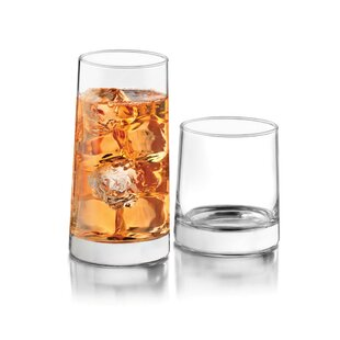 ecc7820a8ac8 Cabos 16 Piece Glass Assorted Glassware Set. by Libbey
