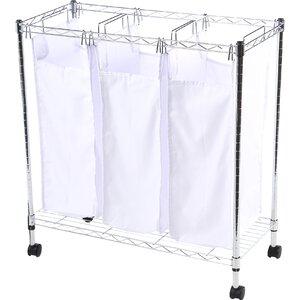 Urban Rolling Triple Laundry Sorter