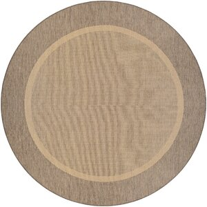 Linden Texture Beige/Brown Indoor/Outdoor Area Rug