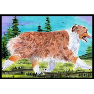 Australian Shepherd Doormat