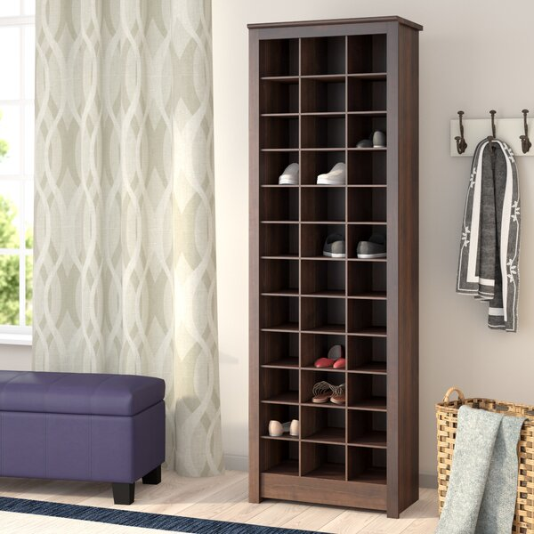 Three Posts Kahl Space Saving 36 Pair Shoe Rack U0026 Reviews | Wayfair