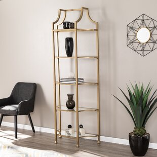 Rex Tall Etagere Bookcase