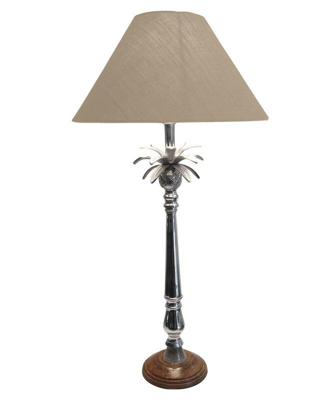 Buxton wood pineapple 33 buffet lamp