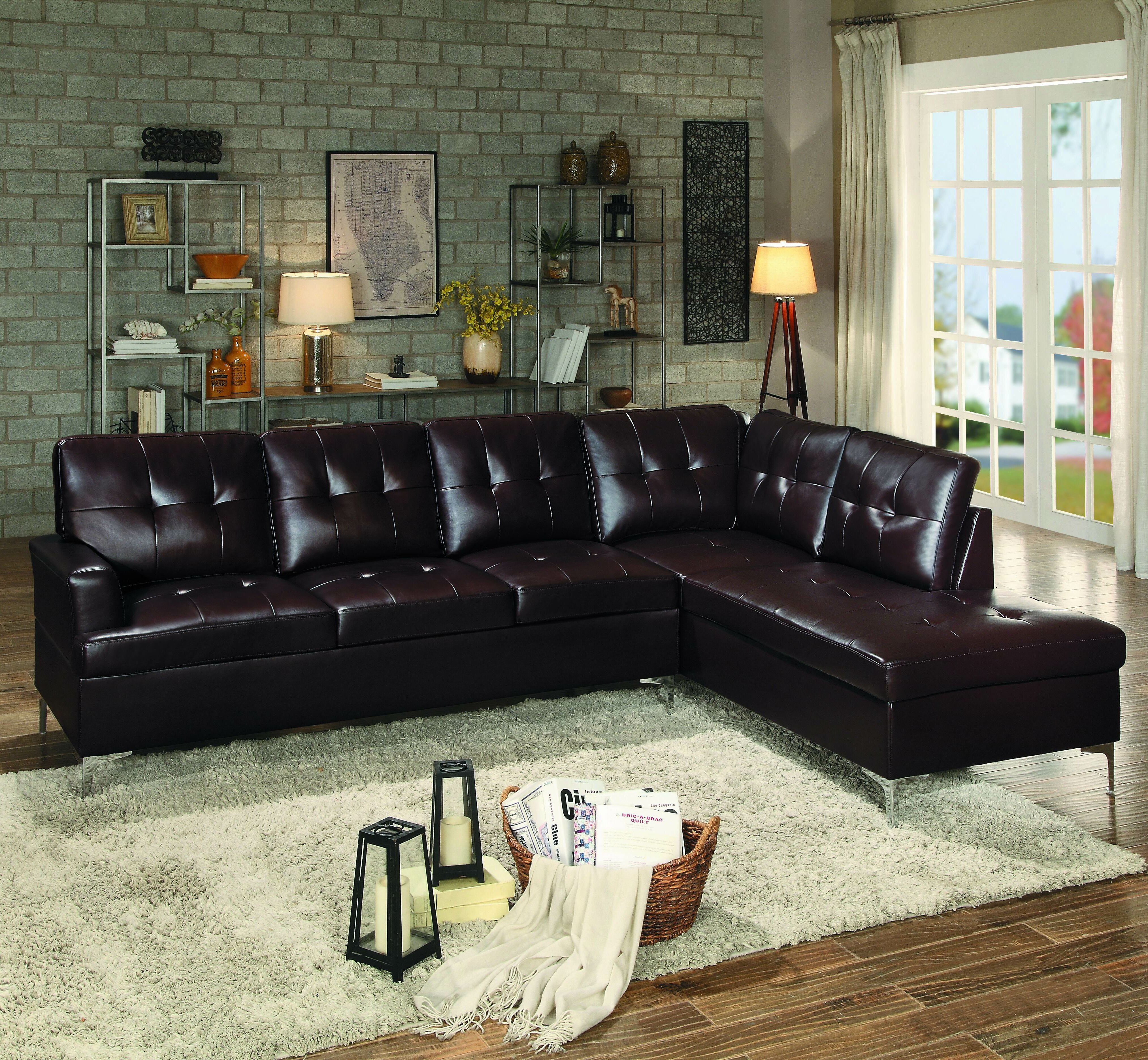 Ivy bronx aura sectional reviews wayfair