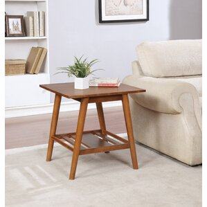 Earlville End Table by Ebern D..