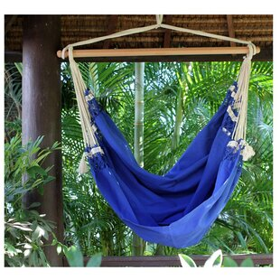 Single Person Fair Trade Cozy Copacabanau0027 Hand Woven Brazilian Cotton Swinging  Chair Hammock