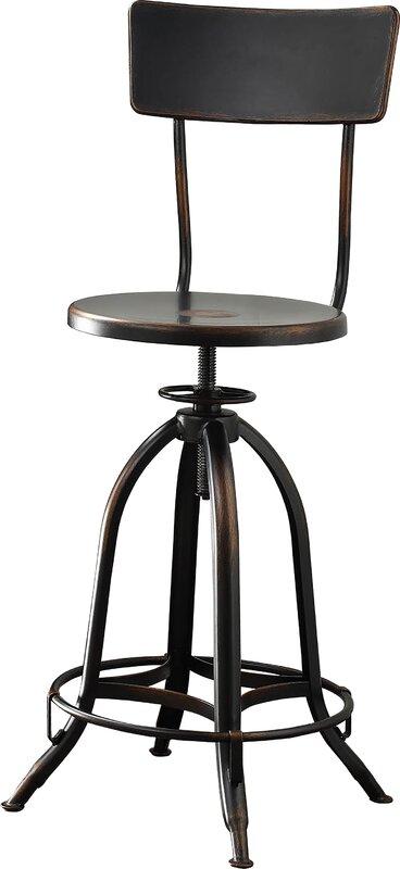 Fontenay Adjustable Height Swivel Bar Stool Amp Reviews