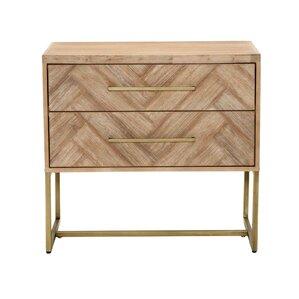 parfondeval 2 drawer nightstand
