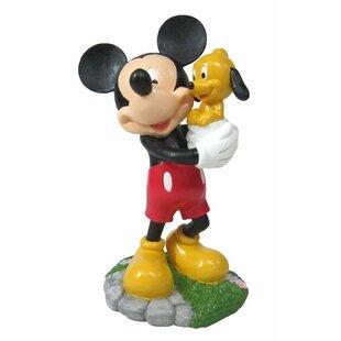 Disney Mickey Solar Statue | Wayfair
