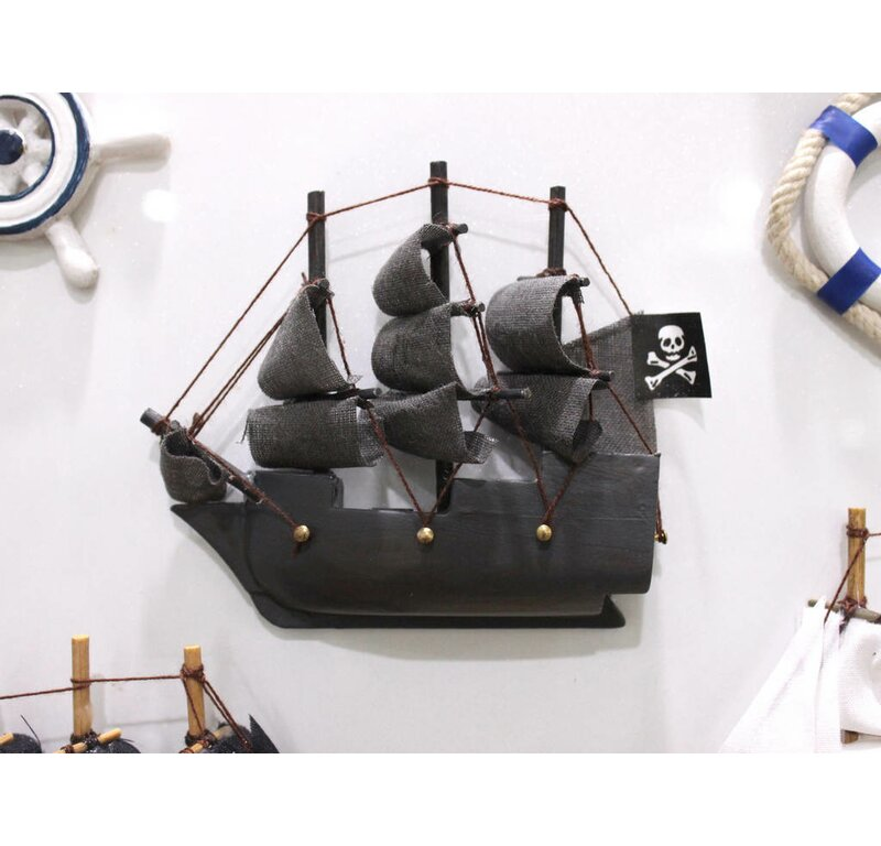 Handcrafted Nautical Decor Flying Dutchman Magnet Model Pirate Ship ...