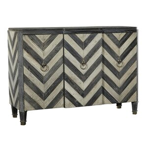 3 Door Chevron Sideboard by Furniture Classics LTD