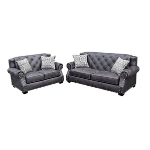 Fredo 2 Piece Living Room Set by Gardena Sofa