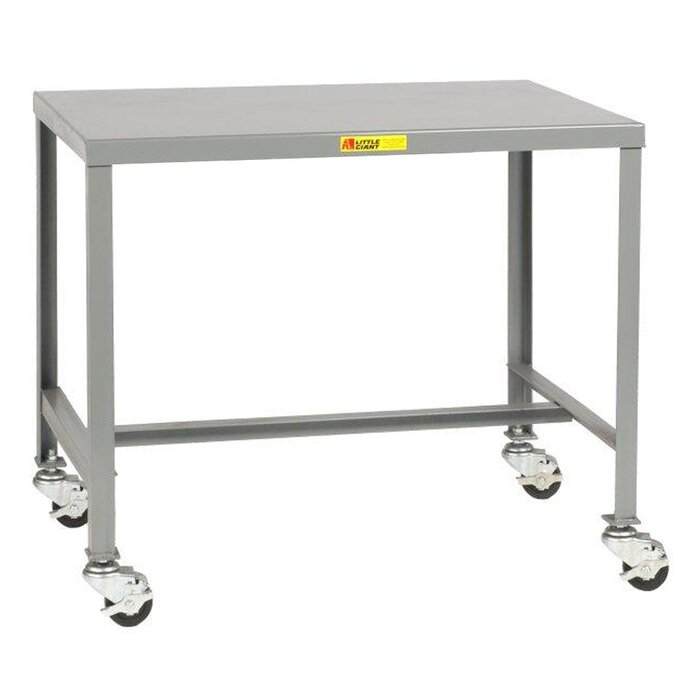 Pleasant Mobile Steel Top Workbench Pabps2019 Chair Design Images Pabps2019Com