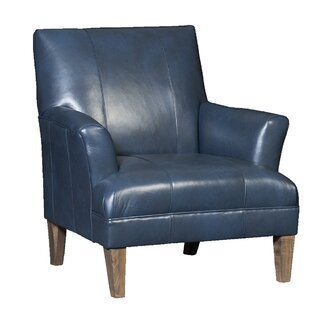 blue leather chair. Marcell Club Chair Blue Leather B