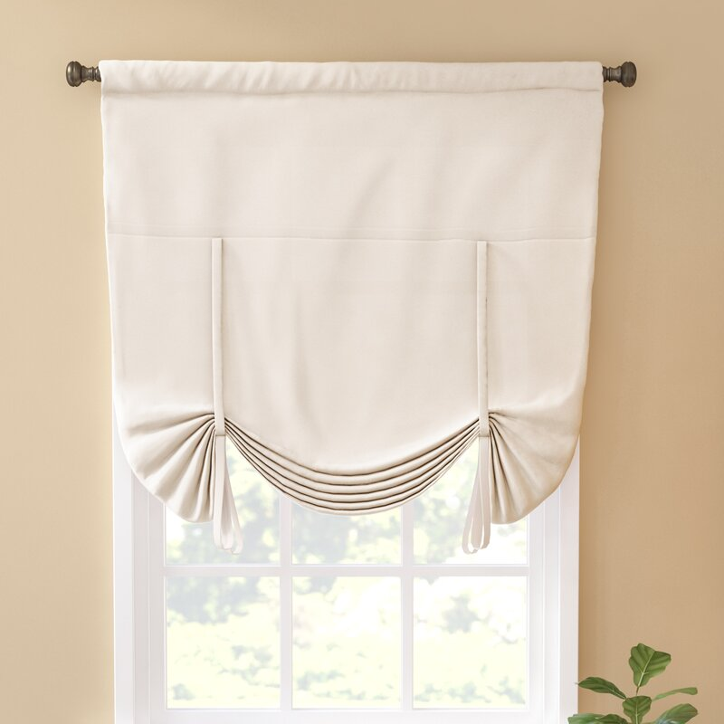 Charlton Home Columbia Blackout Window Tie Up Shade