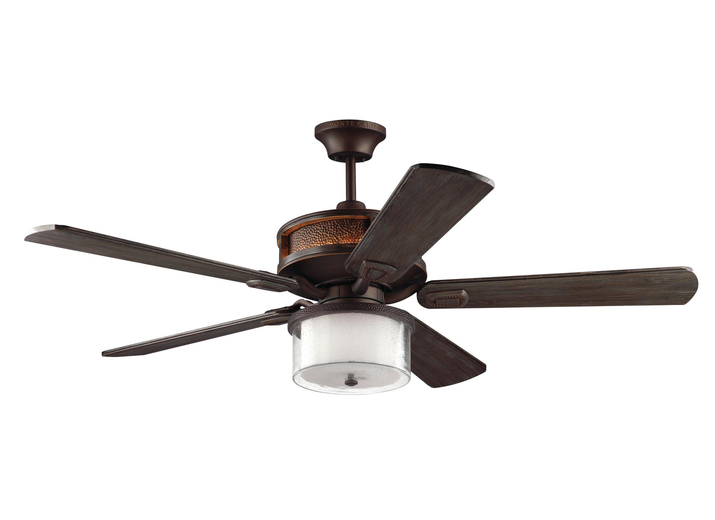 "Fleur De Lis Living 56"" Beauchemin 5 Blade LED Ceiling Fan with"