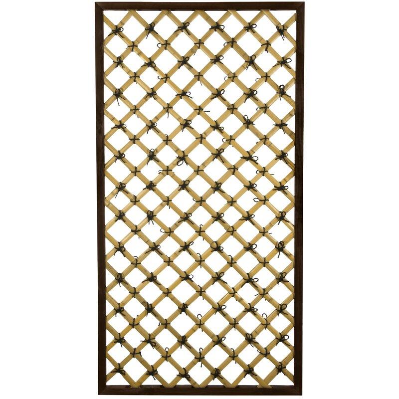 Wood Lattice Panel Trellis