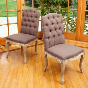 Elkton Parsons Chair (Set of 2) by Astoria Grand