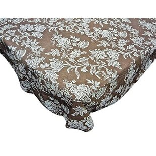 Kerry Ann Floral Cheer Round Vinyl Flannel Backed Tablecloth