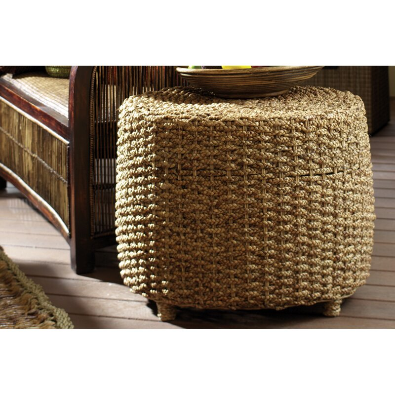 Water Hyacinth Braided End Table