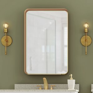 Bathroom Mirrors Under $50 gold mirrors you'll love