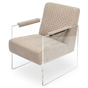 Just Look Acrylic Arm Chair by Sarreid Ltd