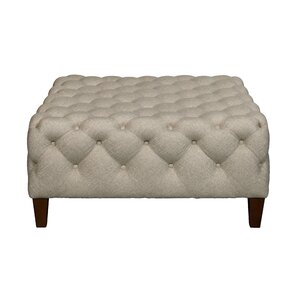 Darby Home Co Brysen Square Button Tufted Cocktail Ottoman