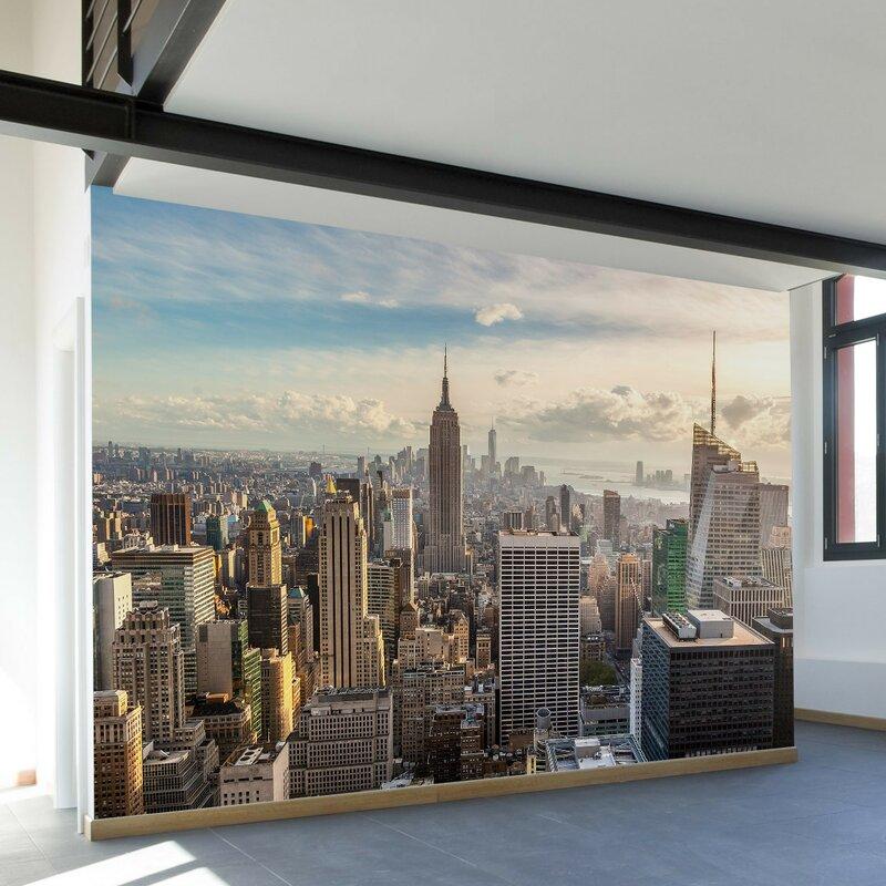 New York Skyline Wall Mural Part 56